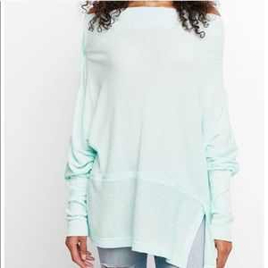 We The Free Londontown Oversized Thermal Top Large